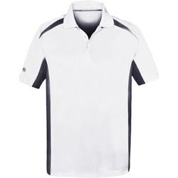 Abbigliamento Uomo Polo maniche corte Stormtech ST955 Bianco/Blu navy