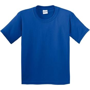 Abbigliamento Unisex bambino T-shirt maniche corte Gildan 64000B Blu reale