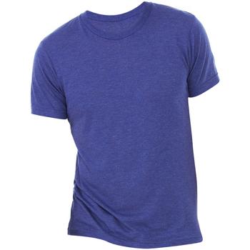 Abbigliamento Uomo T-shirt maniche corte Bella + Canvas CA3413 Blu navy