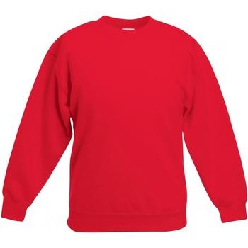 Abbigliamento Unisex bambino Felpe Fruit Of The Loom SS801 Rosso
