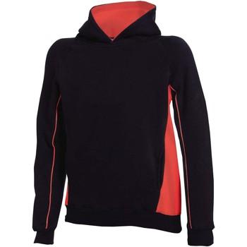 Abbigliamento Unisex bambino Felpe Finden & Hales LV339 Nero/Rosso