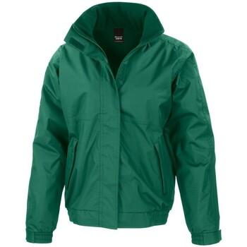 Abbigliamento Uomo giacca a vento Result Channel Verde bottiglia