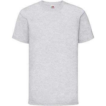 Abbigliamento Unisex bambino T-shirt maniche corte Fruit Of The Loom 61033 Grigio screziato