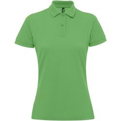 Abbigliamento Donna Polo maniche corte Asquith & Fox AQ025 Verde