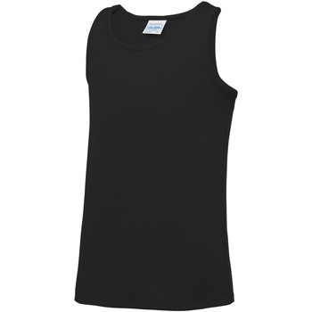 Abbigliamento Unisex bambino Top / T-shirt senza maniche Awdis JC07J Nero