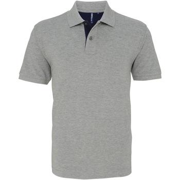 Abbigliamento Uomo Polo maniche corte Asquith & Fox AQ012 Erica/Blu Navy