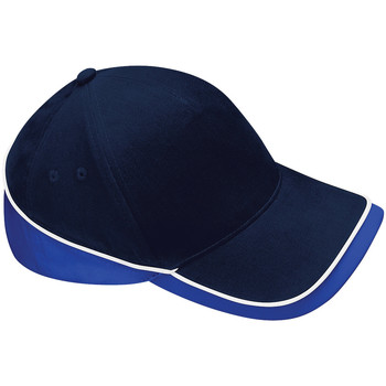 Accessori Cappellini Beechfield B171 Blu navy/Blu reale/Bianco