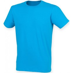 Abbigliamento Uomo T-shirt maniche corte Skinni Fit SF121 Zaffiro