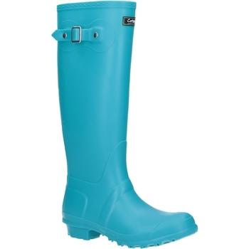 Scarpe Donna Stivali da pioggia Cotswold Sandringham Turchese