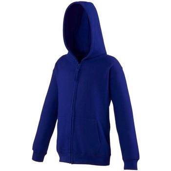 Abbigliamento Unisex bambino Felpe Awdis JH50J Blu Oxford