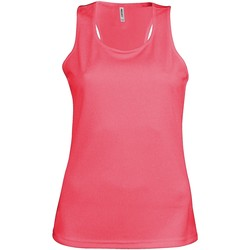 Abbigliamento Donna Top / T-shirt senza maniche Kariban Proact Proact Rosa fluorescente