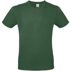 Abbigliamento Uomo T-shirt maniche corte B And C TU01T Verde bottiglia