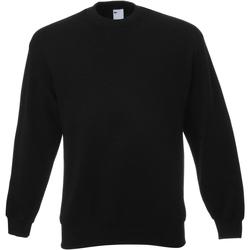 Abbigliamento Uomo Felpe Universal Textiles 62202 Nero