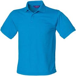 Abbigliamento Uomo Polo maniche corte Henbury HB400 Blu zaffiro