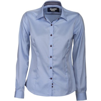Abbigliamento Donna Camicie J Harvest & Frost JF006 Cielo/Navy