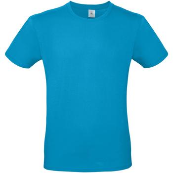 Abbigliamento Uomo T-shirt maniche corte B And C TU01T Blu atollo