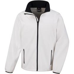 Abbigliamento Uomo Giubbotti Result R231M Bianco/Nero