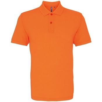 Abbigliamento Uomo Polo maniche corte Asquith & Fox AQ010 Arancione Neon