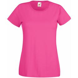 Abbigliamento Donna T-shirt maniche corte Universal Textiles 61372 Rosa acceso