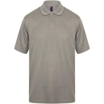 Abbigliamento Uomo Polo maniche corte Henbury HB475 Erica grigia