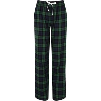 Abbigliamento Donna Pigiami / camicie da notte Skinni Fit Tartan Blu Navy/Verde