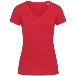 Abbigliamento Donna T-shirt maniche corte Stedman Stars Janet Rosso