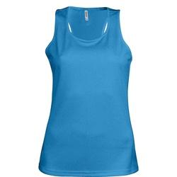 Abbigliamento Donna Top / T-shirt senza maniche Kariban Proact Proact Blu acqua