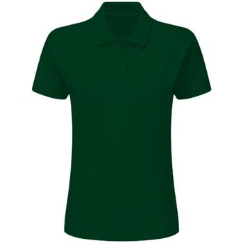 Abbigliamento Bambino Polo maniche corte Sg SG59K Verde bottiglia