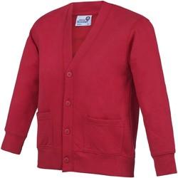 Abbigliamento Unisex bambino Gilet / Cardigan Awdis  Rosso