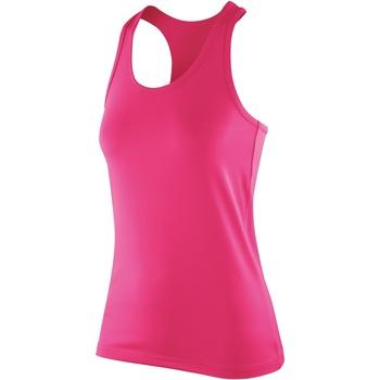 Abbigliamento Donna Top / T-shirt senza maniche Spiro S281F Rosa candy