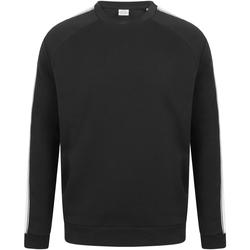 Abbigliamento Felpe Skinni Fit SF523 Nero/Bianco