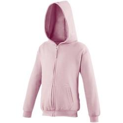 Abbigliamento Unisex bambino Felpe Awdis JH50J Rosa baby