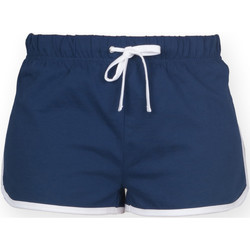 Abbigliamento Donna Shorts / Bermuda Skinni Fit SK069 Blu navy/Bianco