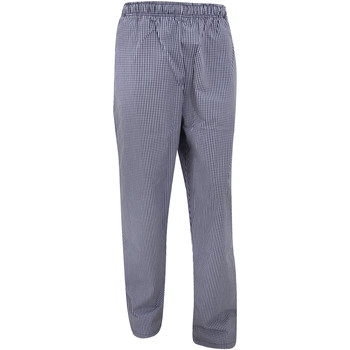 Abbigliamento Pantaloni morbidi / Pantaloni alla zuava Dennys DC01E Blu navy/Bianco
