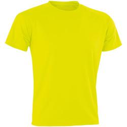 Abbigliamento Uomo T-shirt maniche corte Spiro Aircool Giallo fluo
