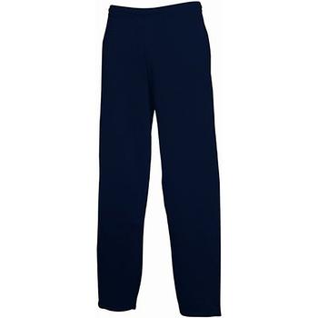 Abbigliamento Uomo Pantaloni da tuta Fruit Of The Loom 64032 Blu scuro