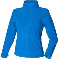 Abbigliamento Donna Felpe in pile Henbury HB851 Azzurro intenso