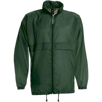 Abbigliamento Uomo giacca a vento B And C JU800 Verde bottiglia