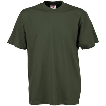 Abbigliamento Uomo T-shirt maniche corte Tee Jays TJ8000 Verde oliva