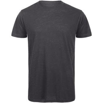 Abbigliamento Uomo T-shirt maniche corte B And C TM046 Antracite
