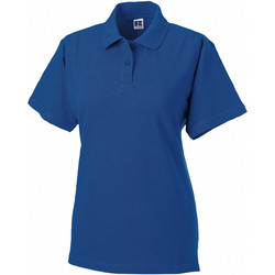 Abbigliamento Donna Polo maniche corte Russell 569F Blu reale acceso