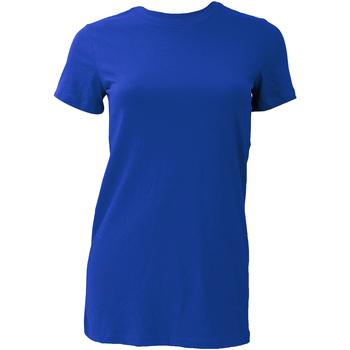 Abbigliamento Donna T-shirt maniche corte Bella + Canvas BE6004 Blu reale acceso