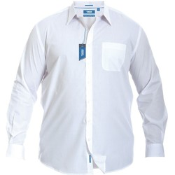 Abbigliamento Uomo Camicie maniche lunghe Duke  Bianco