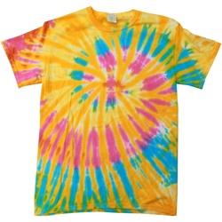 Abbigliamento Donna T-shirt maniche corte Colortone Rainbow Aurora