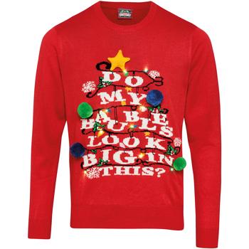 Abbigliamento Maglioni Christmas Shop CS036 Rosso