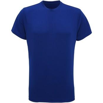 Abbigliamento Uomo T-shirt maniche corte Tridri TR010 Blu reale