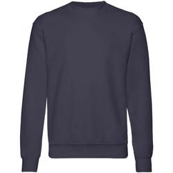 Abbigliamento Unisex bambino Felpe Fruit Of The Loom  Blu scuro