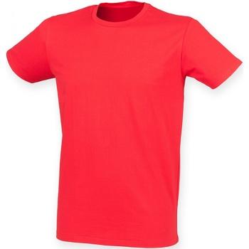 Abbigliamento Uomo T-shirt maniche corte Skinni Fit SF121 Rosso