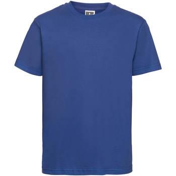 Abbigliamento Unisex bambino T-shirt maniche corte Russell 155B Blu reale acceso