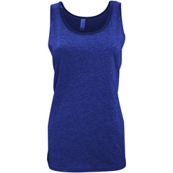 Abbigliamento Donna Top / T-shirt senza maniche Bella + Canvas CA3480 Erica navy blu